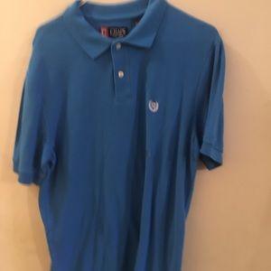 ✨ 3/$40 NWOT Chaps Blue Polo Short Sleeve Shirt